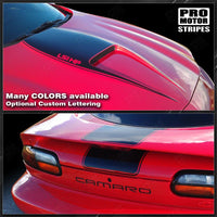 1998 1999 2000 2001 2002 Chevrolet Camaro hood  trunk Decals Stripes 152588454021-1