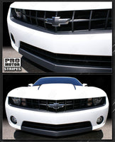 Chevrolet Camaro 2010-2013 Carbon Fiber Valance & Fascia Stripes Auto Decals - Pro Motor Stripes 132229419736