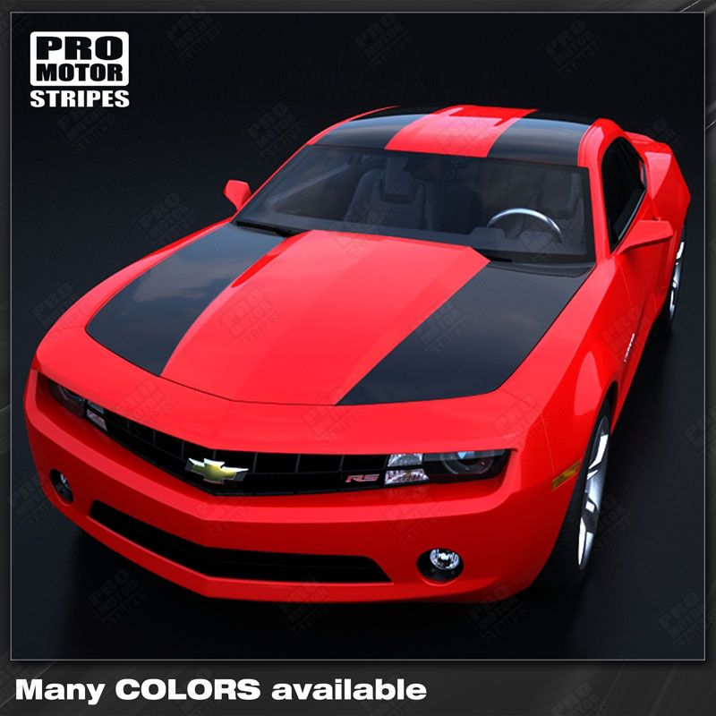 2010 2011 2012 2013 2014 2015 Chevrolet Camaro hood  trunk  roof Decals Stripes 132251055457-1