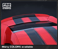 2010 2011 2012 2013 2014 2015 Chevrolet Camaro hood  trunk  roof Decals Stripes 152588443038-2