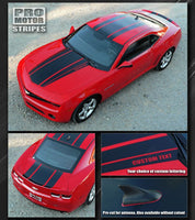 2010 2011 2012 2013 2014 2015 Chevrolet Camaro hood  trunk Decals Stripes 122551579948-1