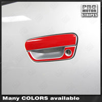 Chevrolet Spark 2013-2015 Door Handle Overlay Stripes