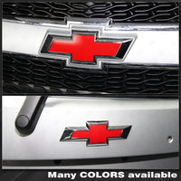 Chevrolet Spark 2013-2015 Front and Rear Bowtie Emblem Overlay Decals