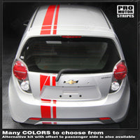 2013 2014 2015 Chevrolet Spark hood  trunk  bumper  roof Decals Stripes 122551586564-2