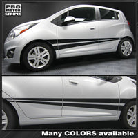 Chevrolet Spark 2013-2015 Rocker Panel Side Stripes