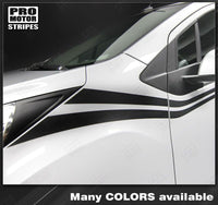 Chevrolet Spark 2013-2015 Side Accent Double Stripes