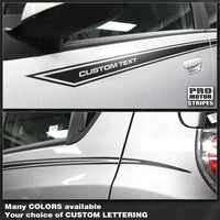 Chevrolet Spark 2013-2015 Side Accent Stripes