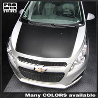 2013 2014 2015 Chevrolet Spark hood Decals Stripes 122551589193-1