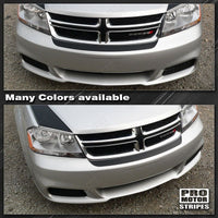 2008 2009 2010 2011 2012 2013 2014 Dodge Avenger bumper Decals Stripes 122551591972-1