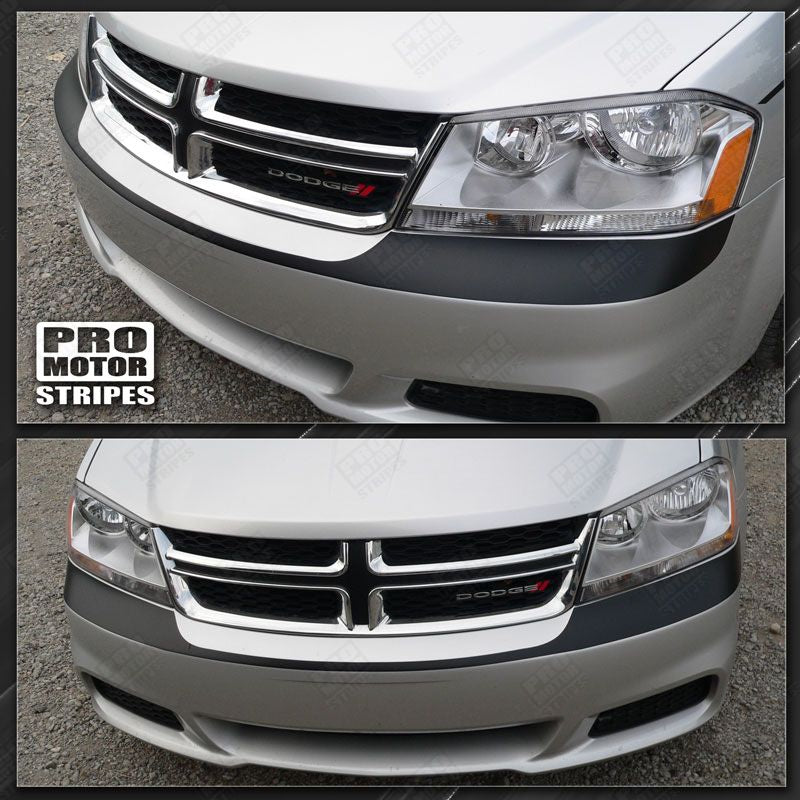 2008 2009 2010 2011 2012 2013 2014 Dodge Avenger bumper Decals Stripes 152588455710-1