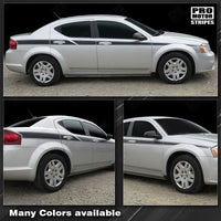 2008 2009 2010 2011 2012 2013 2014 Dodge Avenger side  door Decals Stripes 152588455671-1