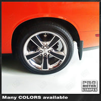 "Dodge Challenger 18"" Wheels Rims Insert Overlay Stripes"