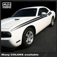 2008 2009 2010 2011 2012 2013 2014 2015 2016 2017 2018 2019 Dodge Challenger side  door Decals Stripes 132229428796-1