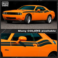 2008 2009 2010 2011 2012 2013 2014 2015 2016 2017 2018 2019 Dodge Challenger side  door Decals Stripes 132229428742-1