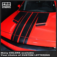 2008 2009 2010 2011 2012 2013 2014 2015 2016 2017 2018 2019 Dodge Challenger hood Decals Stripes 152588451880-2