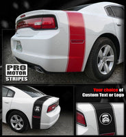 2011 2012 2013 2014 Dodge Charger side  trunk Decals Stripes 152627950488-3