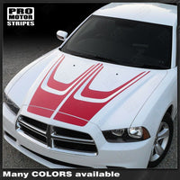 2011 2012 2013 2014 Dodge Charger hood Decals Stripes 132229425339-1