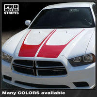 2011 2012 2013 2014 Dodge Charger hood Decals Stripes 152588450882-1