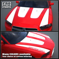 2011 2012 2013 2014 Dodge Charger hood Decals Stripes 152627758611-1
