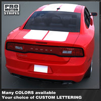2011 2012 2013 2014 Dodge Charger hood  trunk  roof Decals Stripes 132230362087-2