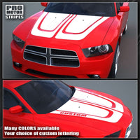 2011 2012 2013 2014 Dodge Charger hood  trunk  roof Decals Stripes 132230362087-3