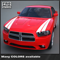 2011 2012 2013 2014 Dodge Charger hood Decals Stripes 152588455742-1