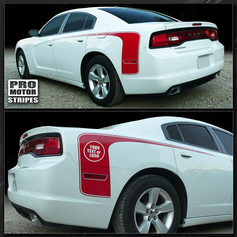 2011 2012 2013 2014 Dodge Charger side Decals Stripes 152628919306-1
