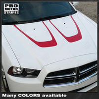 2011 2012 2013 2014 Dodge Charger hood Decals Stripes 132229430471-1