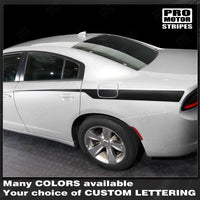2011 2012 2013 2014 2015 2016 2017 2018 2019 Dodge Charger side  door Decals Stripes 132345635111-2
