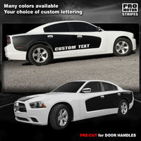 Dodge Charger 2011-2019 Side Billboard Blackout Stripes