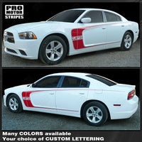 2011 2012 2013 2014 2015 2016 2017 2018 2019 Dodge Charger side  door Decals Stripes 122551585391-1
