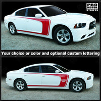 Dodge Charger 2011-2019 Side Scallop Bumblebee C Stripes 122603265863