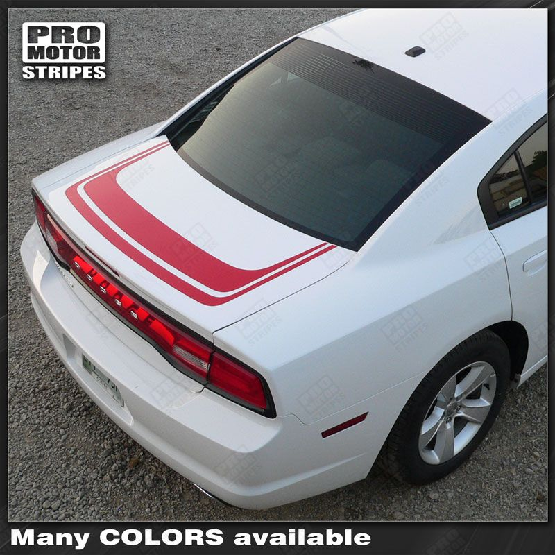 2011 2012 2013 2014 2015 2016 2017 2018 2019 Dodge Charger trunk Decals Stripes 152588454817-1