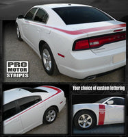 Dodge Charger 2011-2019 Valiant Style Trunk & Side Stripes