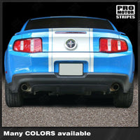 2010 2011 2012 Ford Mustang hood  trunk  bumper  roof Decals Stripes 122606574873-2
