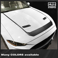 Ford Mustang 2018-2021 Hood Accent Decal Stripe