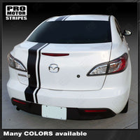 2009 2010 2011 2012 2013 Mazda 3 hood  trunk  bumper  roof Decals Stripes 152616433158-3