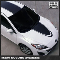 Mazda 3 2009-2013 Coupe Rally Racing Stripes