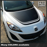 Mazda 3 2009-2013 Hood Accent Rally Racing Stripe Decal