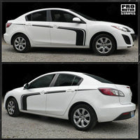 Mazda 3 2009-2013 Rally Racing Side Hockey Stripes
