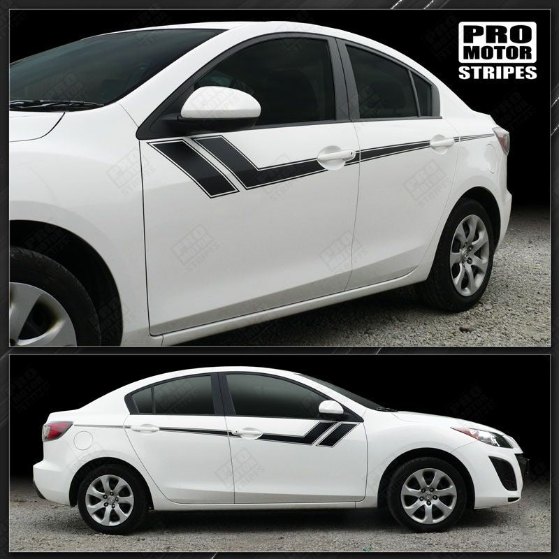 2009 2010 2011 2012 2013 Mazda 3 side  door Decals Stripes 122551590465-1