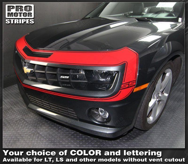 2010 2011 2012 2013 Chevrolet Camaro bumper Decals Stripes 132229429474-1