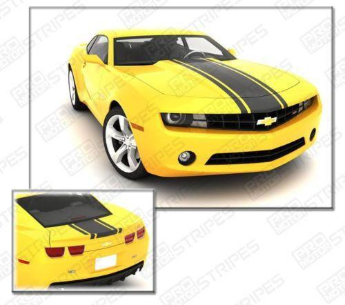 2010 2011 2012 2013 2014 2015 Chevrolet Camaro hood  trunk Decals Stripes 132252096185-1