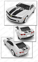 2010 2011 2012 2013 2014 2015 Chevrolet Camaro hood  trunk Decals Stripes 132229425385-2