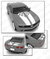 2010 2011 2012 2013 2014 2015 Chevrolet Camaro hood  trunk Decals Stripes 132229425385-4