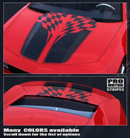 2010 2011 2012 2013 2014 2015 Chevrolet Camaro hood  trunk Decals Stripes 152588449617-1
