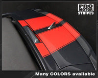 2010 2011 2012 2013 2014 2015 Chevrolet Camaro hood  trunk Decals Stripes 152588451846-2