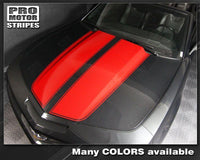 2010 2011 2012 2013 2014 2015 Chevrolet Camaro hood  trunk Decals Stripes 152588451846-1