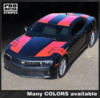 2010 2011 2012 2013 2014 2015 Chevrolet Camaro hood  trunk  roof Decals Stripes 152588443000-1