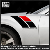 2010 2011 2012 2013 2014 2015 2016 2017 2018 2019 Chevrolet Camaro side Decals Stripes 122551591308-1